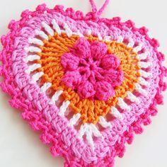 Crochet heart <3