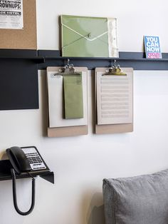 Clip board. Great for organizing bills Ace Hotel London Shoreditch 36 | Est Magazine