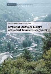 Integrating Landscape Ecology into Natural Resource Management (Cambridge Studies in Landscape Ecology) Social Science, Life Science, Natural Resources, Ecology, Conservation, How To Plan, Landscape, Nature, Naturaleza