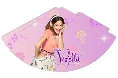 "Kit Aniversário Digital Tema ""Violetta"" para Imprimir - Convites Digitais Simples"