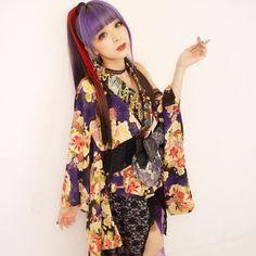 アイコトバ Lisa Japanese Singer, Kimono Japan, Traditional Fashion, Pretty People, Kimono Top, Cosplay, Asian, Model, How To Wear