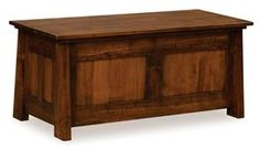 Amish Freemont Mission Blanket Chest