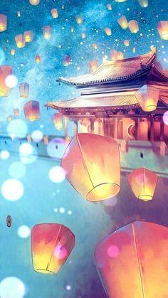 Anime Scenery Wallpaper, Galaxy Wallpaper, Mobile Wallpaper, Fantasy Kunst, Fantasy Art, Anime Fantasy, Fantasy Fiction, Final Fantasy, Fantasy Landscape