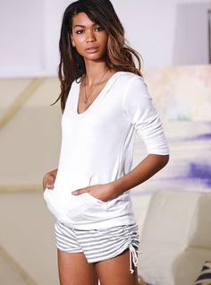 Jammies :) French Terry Hoodie - Supermodel Essentials - Victoria's Secret