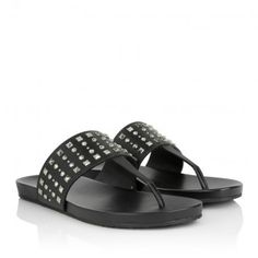 Gucci Sandale – Rei Calf Vacchetta Austin Sandal Nero/Nero – in schwarz – Sandale für Damen