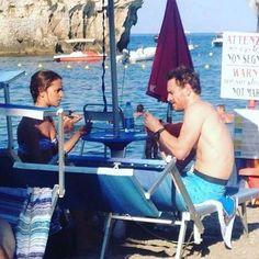Michael Fassbender and Alicia Vikander in Taormina, Sicily, August 2015 Alicia Vikander Style, Michael Fassbender And Alicia Vikander, Sassy, Vincent Cassel, Jaime Dornan, Mr Perfect, Love Film, Summer Skin, Xmen