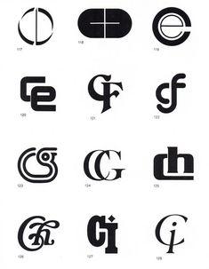 Alphabet of Monograms