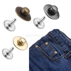 SPMART 100 Sets Rivets Fasteners Studs Button Sewing Jeans Free Shipping #>=#>=#>=#>=#> Click on the pin to check out discount price, color, size, shipping, etc. Save and like it!