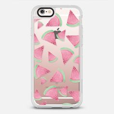 Watercolor Watermelon - Classic Snap Case