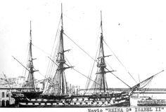 Navio Reina Doña Isabel II. El Reina doña Isabel II fue el penúltimo navío de línea construido en España para la Armada Española y el último que se mantuvo activo