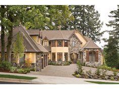 European style home.