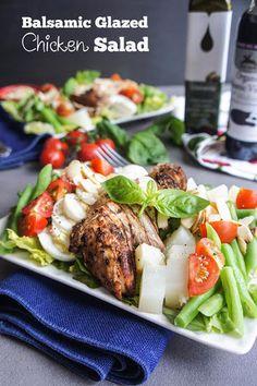 Balsamic Glazed Chicken Salad Recipe on Yummly. @yummly #recipe