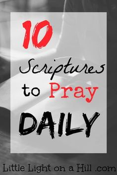 Memorizing scriptures is so vital to our lives as Christians. We should etch the scriptures onto our hearts and speak them daily. Here are my favorites!
