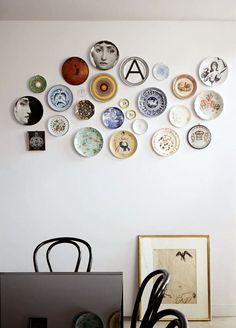Decorando con: Platos en la pared   Decorar tu casa es facilisimo.com