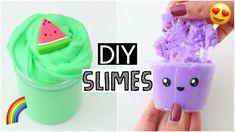 MAKING 6 AMAZING DIY SLIMES - FAMOUS Slime Recipe COMPILATION!