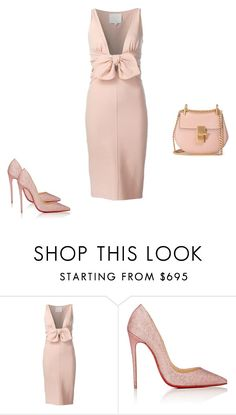 """Untitled #10228"" by explorer-14576312872 ❤ liked on Polyvore featuring Dsquared2, Christian Louboutin and Chloé"
