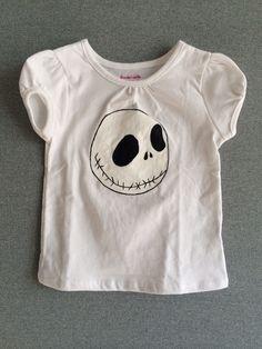 Girls Jack Skellington Long Sleeve T-Shirt by YGcrafts on Etsy