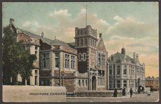 Passmore Edwards Library, Camborne, Cornwall, 1910s - Postcard