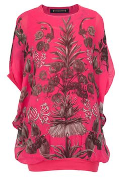 Fuschia printed top available only at Pernia's Pop-Up Shop.