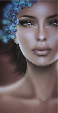 1e19ec356d8ca Second Life Avatar, Female Avatar, Different Kinds Of Art, Arte Digital,  Surrealism