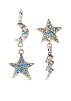 Crystal-embellished drop earrings Sonia Rykiel afEIqz8FR2