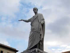 Ferdinand III, Grand Duke of Tuscany, by  Francesco Pozzi, piazza della Repubblica