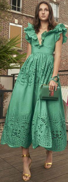 Tie Dress, Dress Skirt, Dress Up, Shirt Dress, Simple Dresses, Nice Dresses, Frocks And Gowns, Royal Dresses, Feminine Dress
