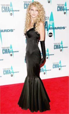 Taylor Swift's CMA Style Evolution