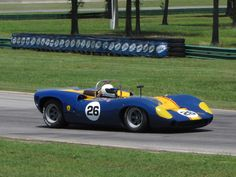 1965 Lola T70 Mk.II of Paul WilsonHeacock Classic Gold Cup at VIR 2010
