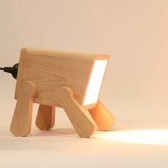 Frank Desk Doggy Lamp