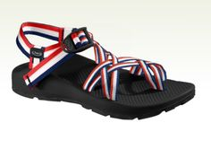 """American inspired chacos """"red white & blue"""""""