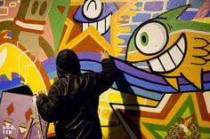 I love PEZ's style. The Spanish artist recently hit up a spot near Brick Lane, East London.