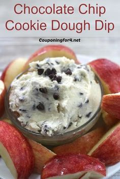 Cookie Dough is one of the ultimate comfort foods for those of us with a raging sweet tooth, but this is even safer! This Chocolate Chip Cookie Dough Dip recipe is egg free (so you can eat it raw! Dessert Dips, Easy Desserts, Delicious Desserts, Dessert Recipes, Yummy Food, Dip Recipes, Baking Recipes, Cookbook Recipes, Sweet Desserts
