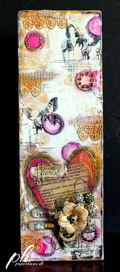 PaperHaus Magazine: Anita shares how she made a beautiful canvas