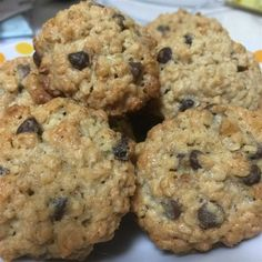 """Chewy Chocolate Chip Oatmeal Cookies I """"What a great recipe! The cookies are moist and chewy and taste phenomenal! Even my kids love them!!"""""""