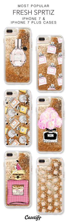 Most Popular Fresh Sprtiz iPhone 7 Cases & iPhone 7 Plus Cases. More perfume liquid glitter iPhone case here >https://www.casetify.com/en_US/collections/iphone-7-glitter-cases#/?vc=JnWmVutsrY
