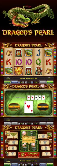 Play the brand new Dragon's Pearl slot by Novomatic exclusively at Bell Fruit Casino. // #NewSlot #Dragon #Slot