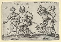 Sebald Beham | May and June from The Peasants' Feast or the Twelve Months | The Met