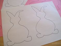 bunny banner template