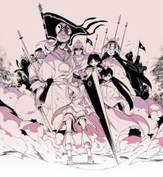 Ren Kouha & His Household - Magi: The Labyrinth of Magic