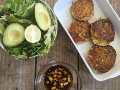Halloumi Burgers with a Ginger and Chilli Dressing | Lucy Bee Coconut Oil