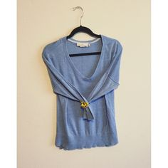 L.o.g.g. light blue sweater A beautiful light blue sweater perfect for layering under a long sweater cardigan and oversized scarf. L.o.g.g. Sweaters V-Necks
