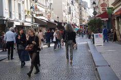 My street in Paris.