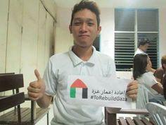 DOSCST students helping us #ToRebuildGaza (Mati City, Philippines).  www.torebuildgaza.com