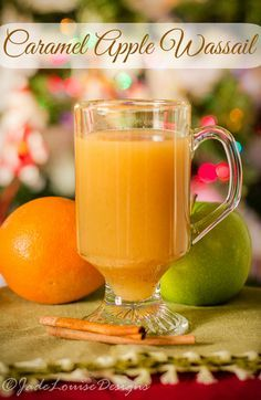 Soul warming Caramel Apple Wassail Recipe for the Holidays Soul warming Caramel Apple Wassail Recipe for the Holidays Caramel Apple Wassail Recipe, Easy family Holiday drink Alcohol Free. Easy Alcoholic Drinks, Fun Drinks, Yummy Drinks, Drinks Alcohol, Christmas Drinks, Holiday Drinks, Christmas Goodies, Christmas Sweets, Wassail Recipe Easy