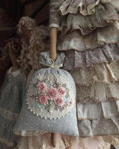Красота и нежность ❤️❤️❤️❤️❤️️ #саманепохвалишьниктонепохвалит #рукоделие #вышивка #бразильскаявышивка #embroidery #handmade #tilda