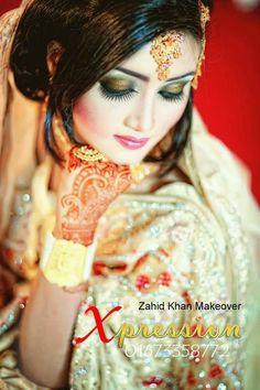 Bangladeshi bride#reception ceremony look#zahid khan makeover