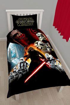 Star Wars The Force Awakens duvet set, £16.99 from B&M