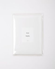 Acne Studios Packaging two-pack Dorla Tee Graphic Design Branding, Identity Design, Visual Identity, Brand Identity, Material Design, Zine, Packaging Inspiration, Packaging Ideas, Design Package