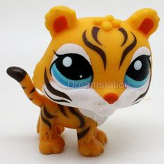 Littlest Pet Shop LPS Tiger Cat Animals Figures L002 i didn't even know it existed
